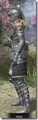 Silver Dawn Iron - Khajiit Female Side