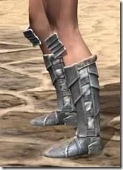 Silver Dawn Iron Sabatons - Female Side