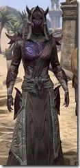 Dremora Ancestor Silk - Female Robe Close Front