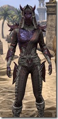 Dremora Ancestor Silk - Female Shirt Close Front