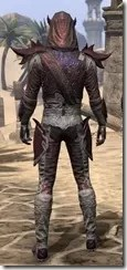 Dremora Ancestor Silk - Male Shirt Rear