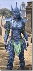 Dremora Rubedite - Dyed Close Front