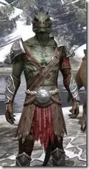 Arena Gladiator - Argonian Male Close Front