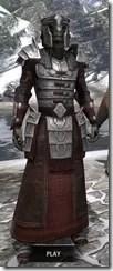 Battlemage Tribune Armor - Argonian Male Front