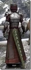 Battlemage Tribune Armor - Argonian Male Rear