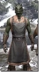 Blacksmith - Argonian Male Close Front