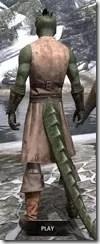 Blacksmith - Argonian Male Rear