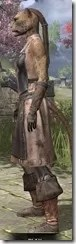 Blacksmith - Khajiit Female Side