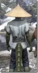 Budi-Shirt and Galligaskins - Argonian Male Close Rear