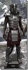 Centurion Dress Armor - Argonian Male Front