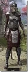 Centurion Dress Armor - Khajiit Female Front