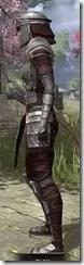 Centurion Dress Armor - Khajiit Female Side