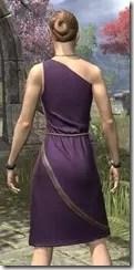 City Isle Tunic Dress Dyed Close Rear