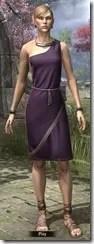 City Isle Tunic Dress Dyed Front