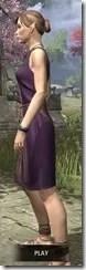 City Isle Tunic Dress Dyed Side