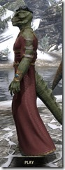 Cyrod Patrician Formal Gown - Argonian Male Side