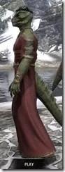 Cyrod Patrician Formal Gown - Argonian Male Side