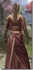 Cyrod Patrician Formal Gown - Khajiit Female Close Rear