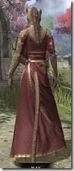 Cyrod Patrician Formal Gown - Khajiit Female Rear