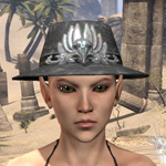 Deluxe Mourning Hat
