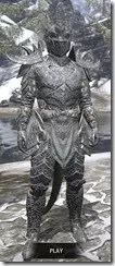 Dremora Iron - Argonian Male Front