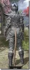 Dremora Iron - Khajiit Female Rear
