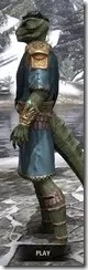 Elder Council Tunic and Sash - Argonian Male Side