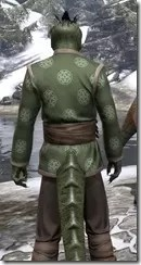 Eternity Tunic with Pants - Argonian Male Close Rear