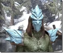 Iceheart - Argonian Male Front