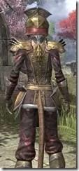 Imperial Chancellor - Khajiit Female Close Rear