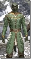 Kinlord's Alinor Attire Argonian Male Close Front