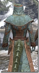 Mages Guild Formal Robes - Argonian Male Close Rear