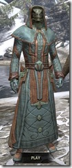 Mages Guild Formal Robes - Argonian Male Front