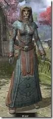 Mages Guild Formal Robes - Khajiit Female Front