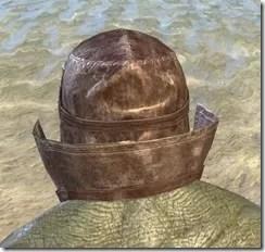 Malefic Standing Collar Hood Argonian Male Rear