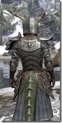 Nedic Duraki Armor - Argonian Male Close Rear