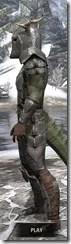 Nedic Perena Armor - Argonian Male Side