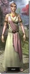 Nibenese Noble's Shawled Robe Dyed Front