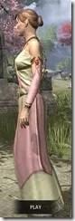 Nibenese Noble's Shawled Robe Dyed Side