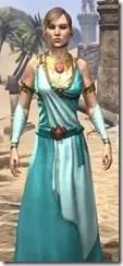 Nibenese Noble's Shawled Robe Female Close Front