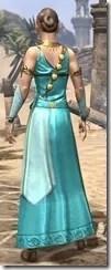 Nibenese Noble's Shawled Robe Female Rear