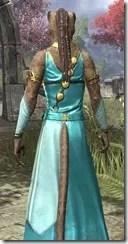 Nibenese Noble's Shawled Robe Khajiit Female Close Rear