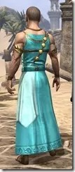 Nibenese Noble's Shawled Robe Male Rear