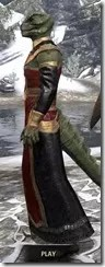 Orc Wise Woman's Vestment Argonian Male Side