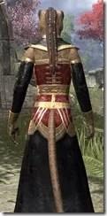 Orc Wise Woman's Vestment Khajiit Female Close Rear