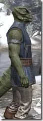 Rawhide-Laced Riften Jerkin Argonian Male Close Side