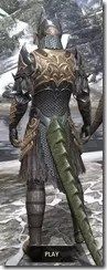 Renegade Dragon Priest Argonian Male Rear