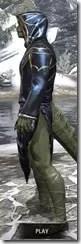 Shrike's Nocturnal Frock - Argonian Male Side