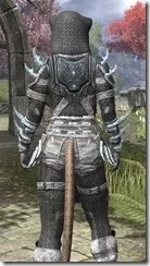 Stahlrim Frostcaster Iron - Khajiit Female Close Rear