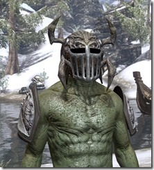 Swarm Mother - Argonian Male Front
